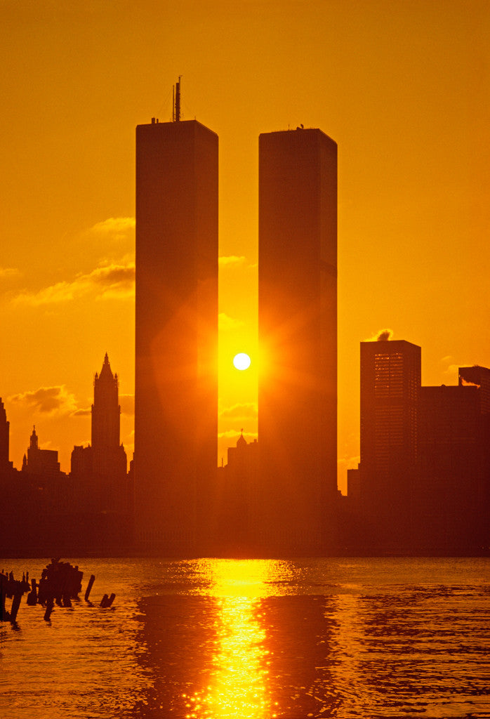 Wtc Sunrise >> Sunrise Between Twin Towers 2 Jake Rajs
