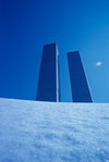 Twin Towers, Snow
