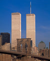 Twin Towers & Brooklyn Bridge 1