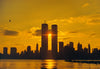 Sunrise Between World Trade Center 1