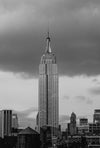 Empire State Building and Clouds