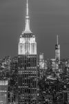 Empire State Building 1,  Black and White