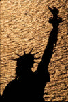 Statue of Liberty, Silhouette