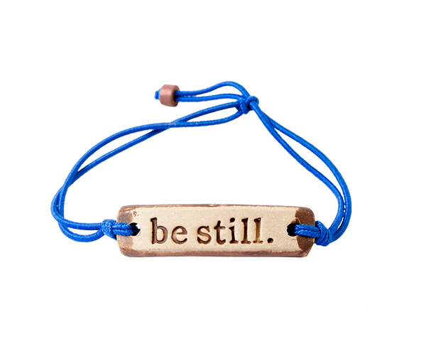 MudLOVE be still. Wrist Band