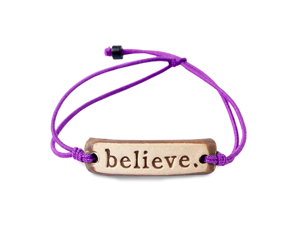 MudLOVE believe. Wrist Band