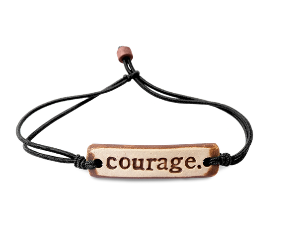 MudLOVE courage. Wrist Band
