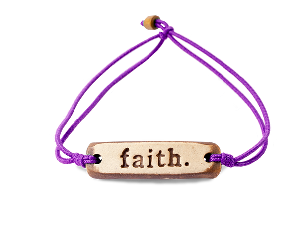 MudLOVE faith. Wrist Band