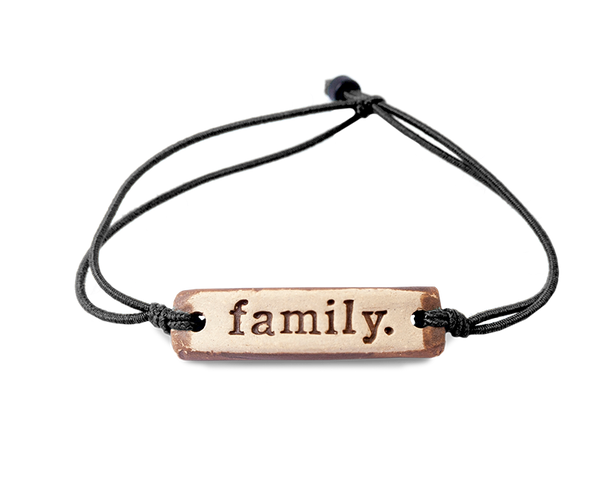 MudLOVE family. Wrist Band
