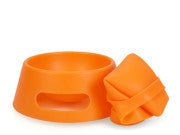 Fold-n-Go Dog Bowl easy clean