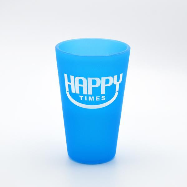 Happy Times Pint Glass (16 oz.) unbreakable