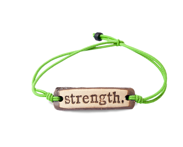 MudLOVE strength. Wrist Band