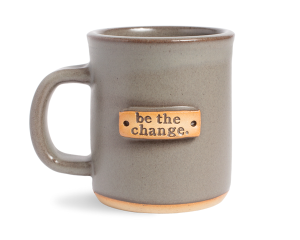 MudLOVE Mug be the change.