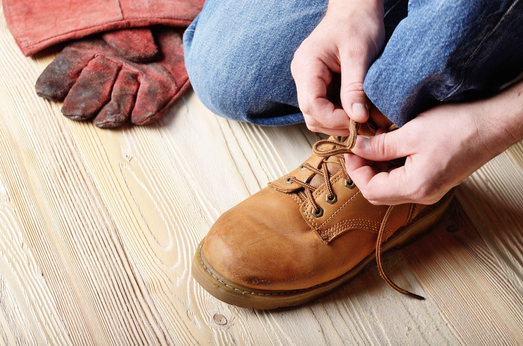 4 Methods for How to Lace Work Boots