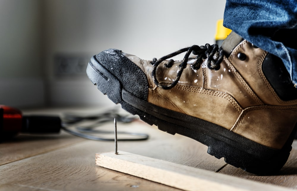 Wedge Sole Work Boots Safety