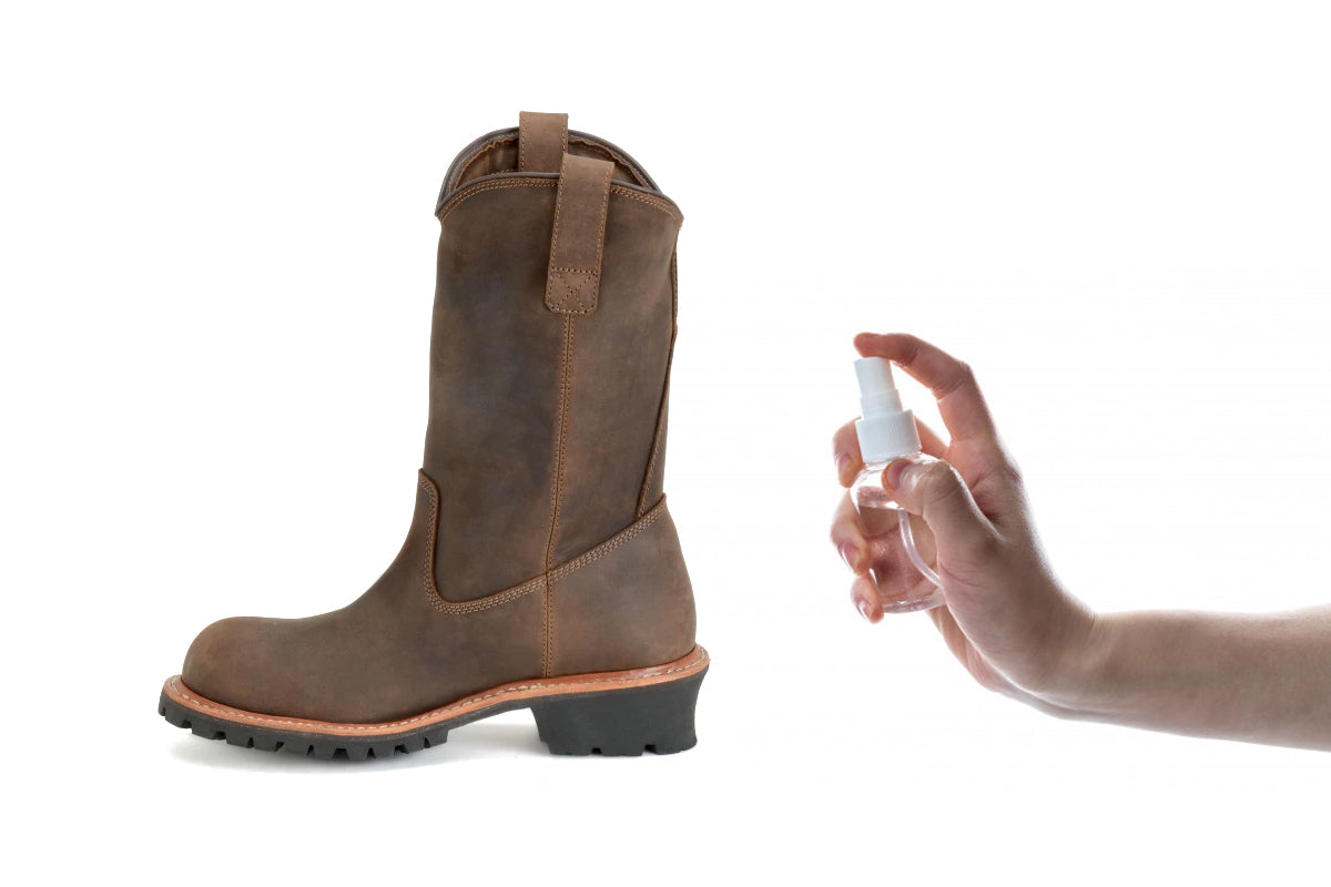 Use Oil or Spray To Stretch Leather Boots