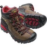KEEN Utility Pittsburgh Steel Toe Work Work Boot - Bison - 1007024  - Overlook Boots