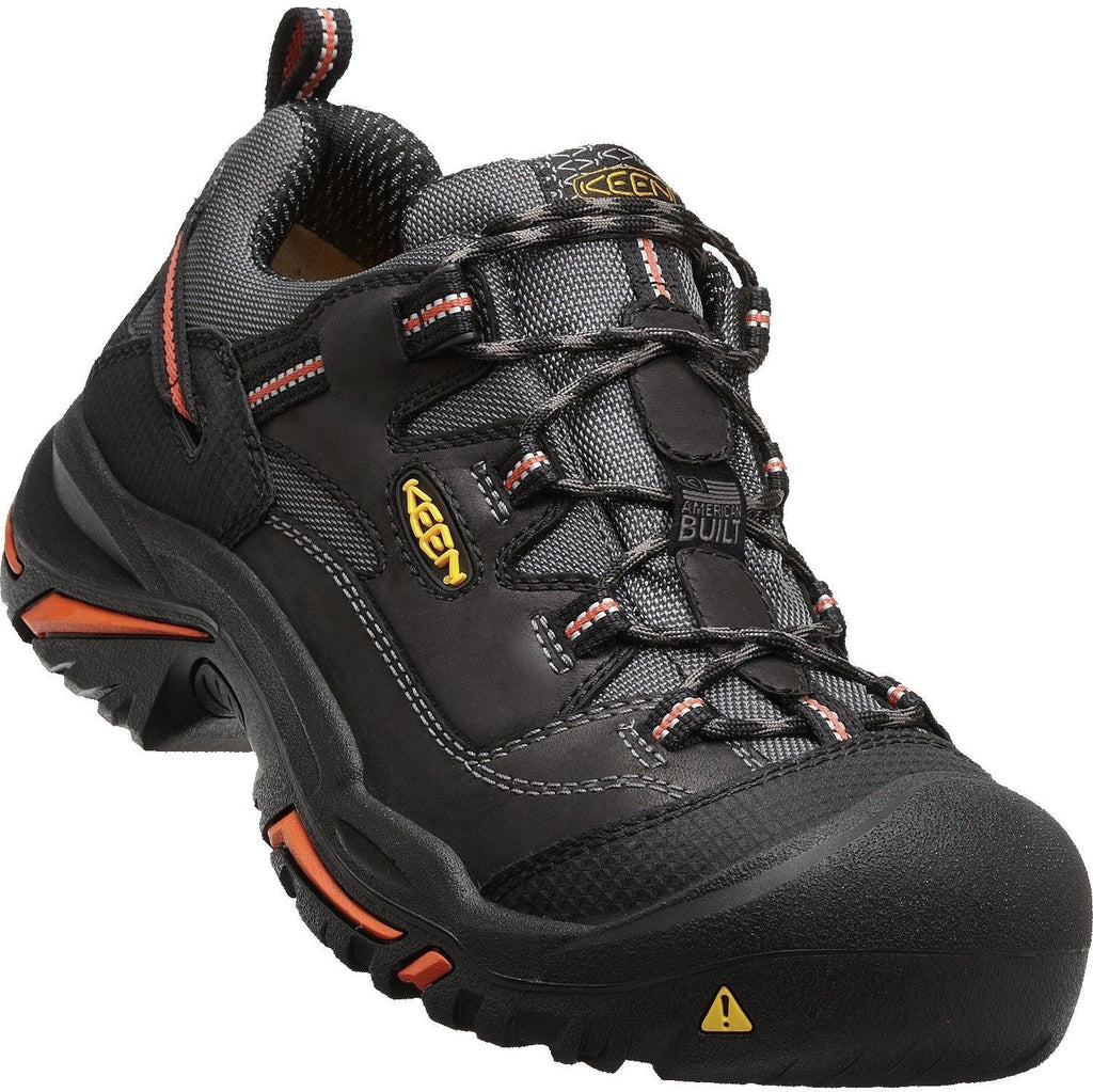 KEEN Utility Men's Braddock Low Stl American Built Work Shoe 1011244 8.5 / Medium / Black - Overlook Boots