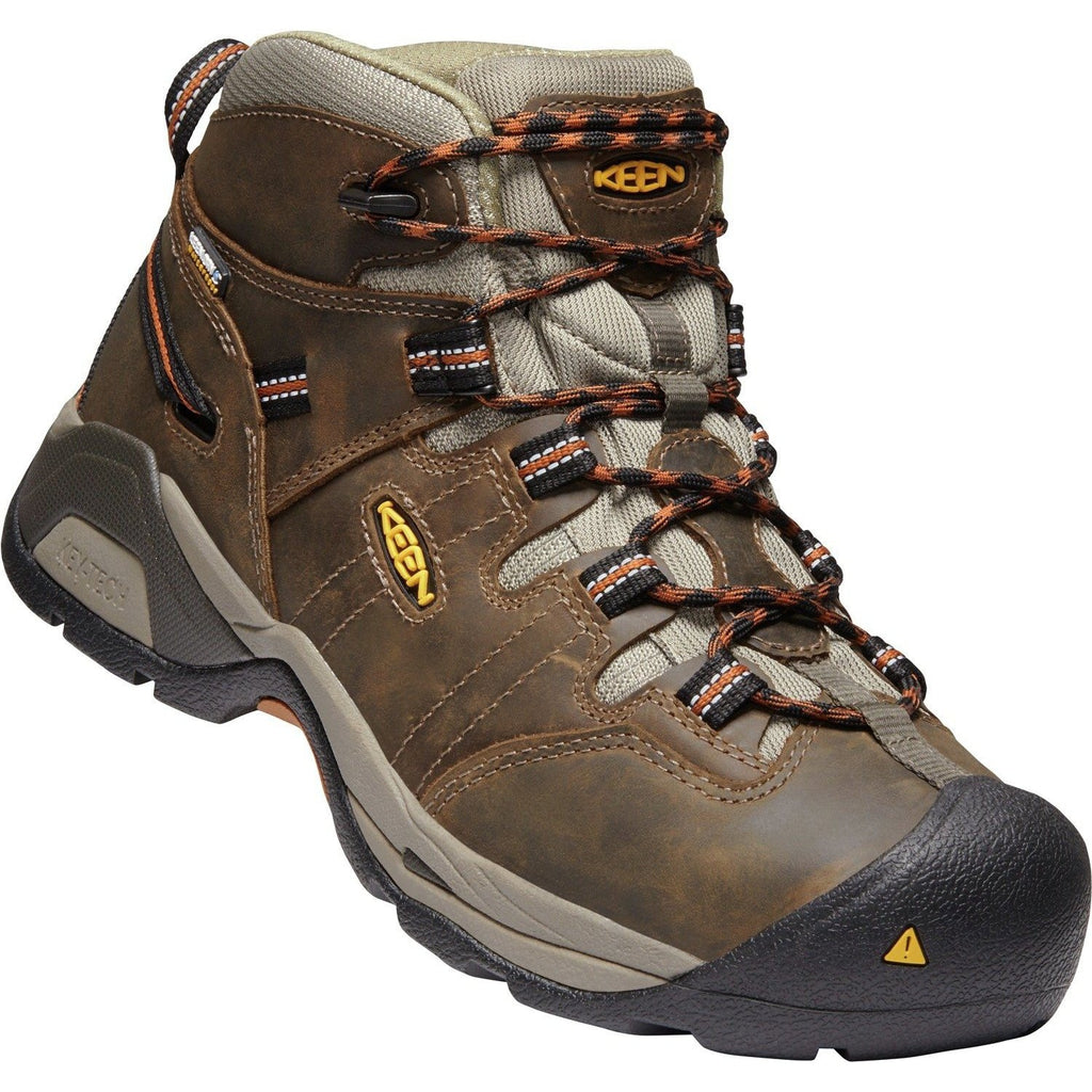 KEEN Utility Men's Detroit XT WP Soft Toe Work Boot - Brown - 1020039 8 / Medium / Brown - Overlook Boots