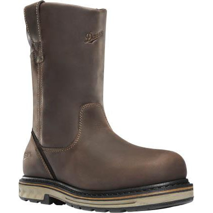 Danner Men's Steel Yard  WP Wellington Work Boot - Brown -12560  - Overlook Boots