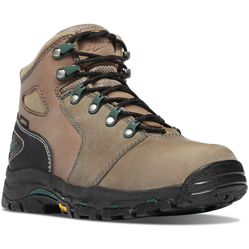 "Danner Women's Vicious 4"" WP Comp Toe Work Boot - Brown - 13853 5 / Medium / Brown - Overlook Boots"