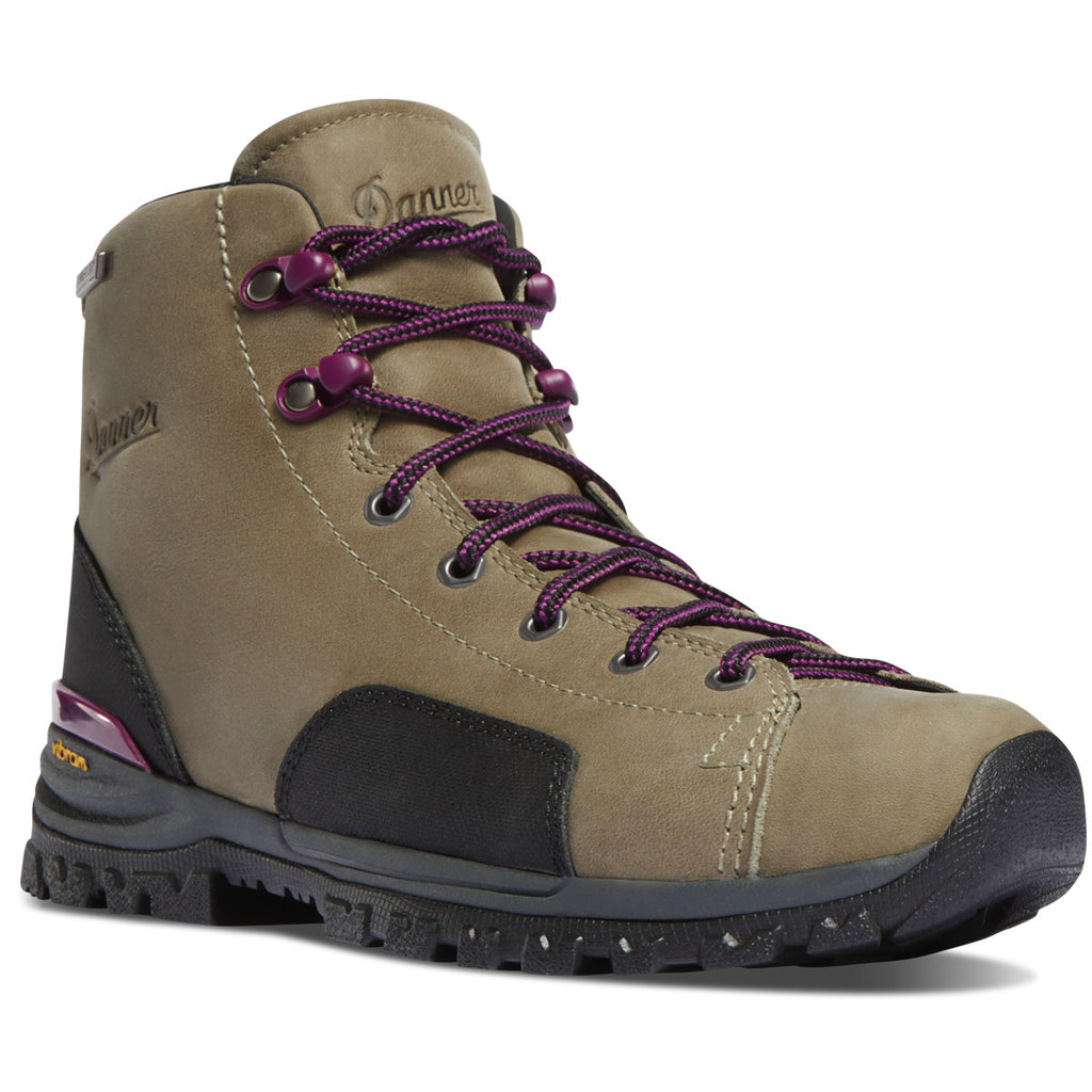 "Danner Women's Stronghold 5"" WP Work Boot - Gray - 16715 5 / Medium / Gray - Overlook Boots"