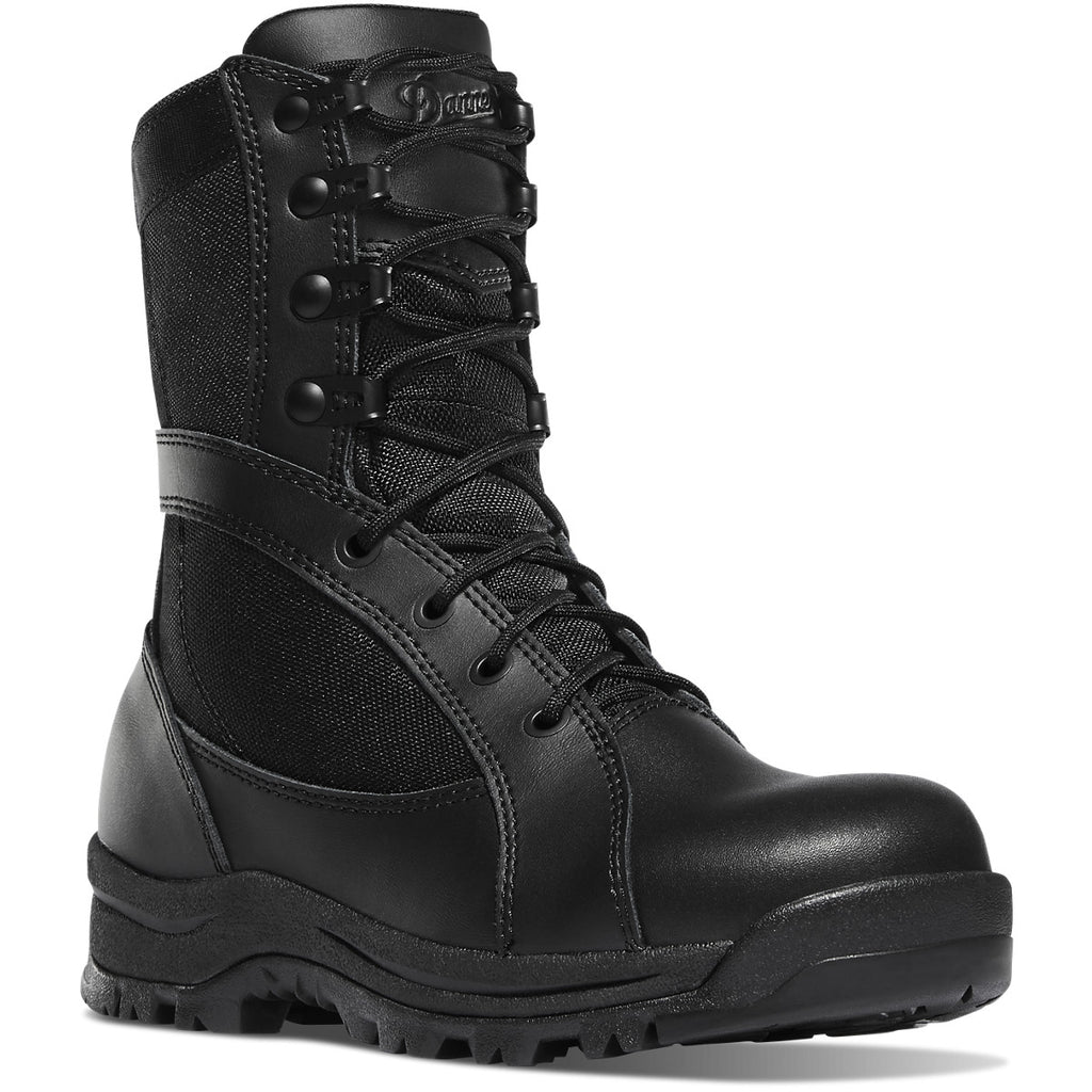 Danner Women's Prowess Side Zip Duty Boot - Black - 22310 7 / Medium / Black - Overlook Boots