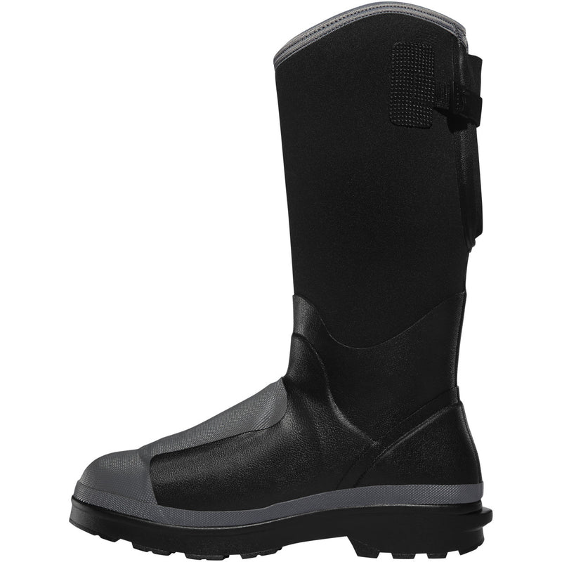 "Lacrosse Men's Alpha Range 14"" Comp Toe WP Work Boot - Black - 248310  - Overlook Boots"