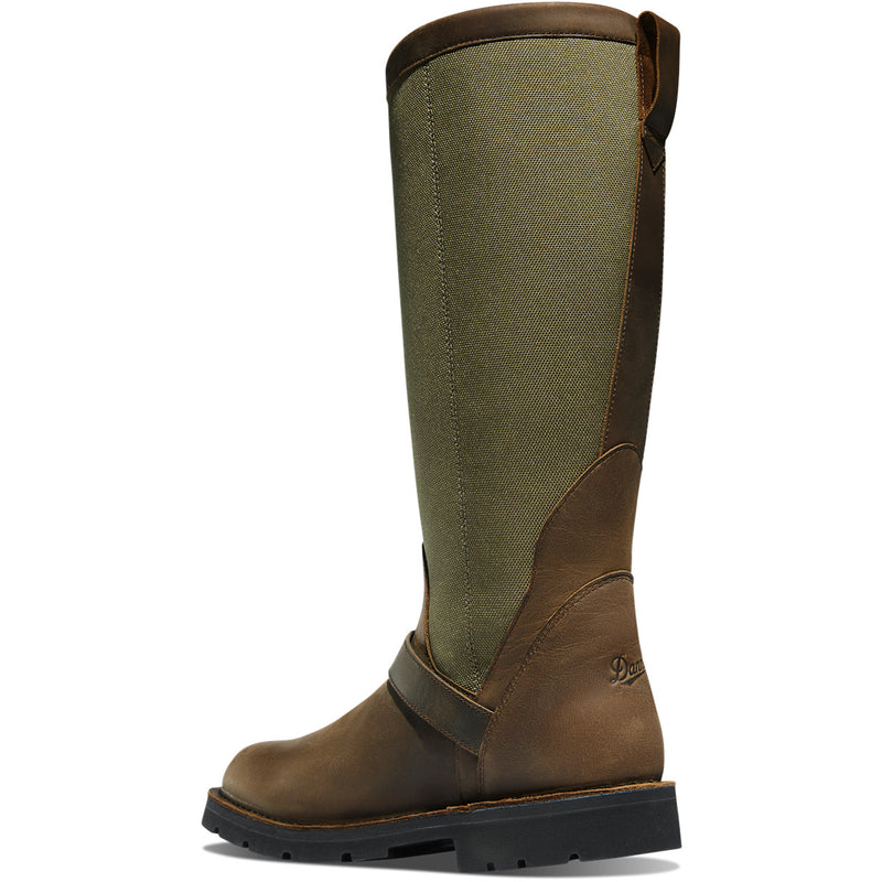 "Danner Men's San Angelo 17"" Snake Hunt Boot - Brown - 42751  - Overlook Boots"