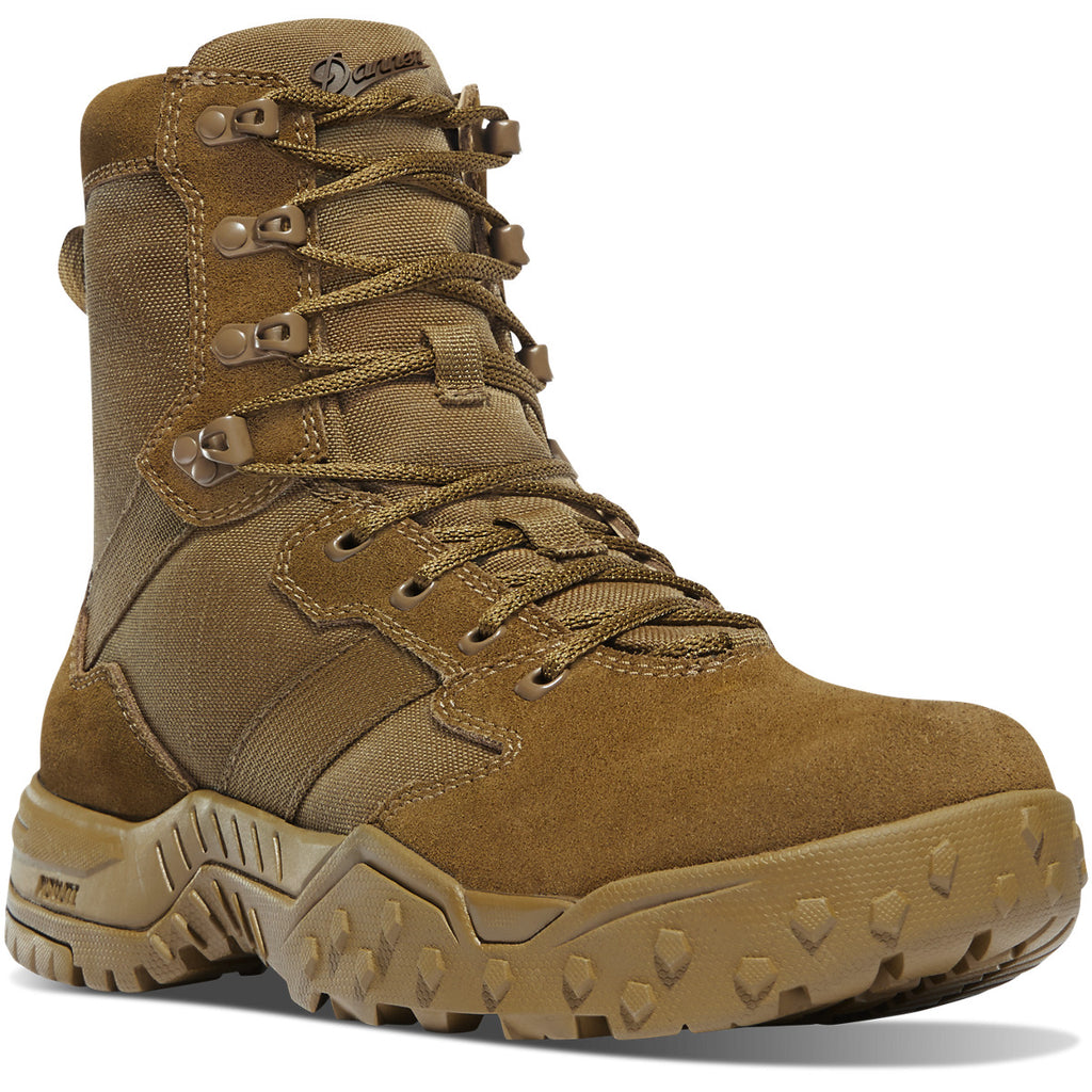 "Danner Men's Scorch Military 8"" Duty Boot - Coyote - 53661 8 / Medium / Coyote - Overlook Boots"