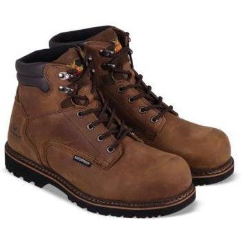 "Thorogood Men's V-Series 6"" WP Comp Toe Work Boot - Brown - 804-3236 8 / Medium / Brown - Overlook Boots"