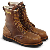 "Thorogood Men's 1957 Series 8"" Stl Toe USA Made WP Work Boot - 804-3898 8 / Medium / Brown - Overlook Boots"
