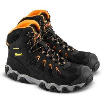 "Thorogood Men's Crosstrex 6"" Hiker WP Comp Work Boot -Black- 804-6296 8 / Medium / Black - Overlook Boots"