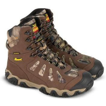 "Thorogood Men's Crosstrex 8"" WP Ins Hunt Boot - Camo - 863-7079 8 / Medium / Camo - Overlook Boots"