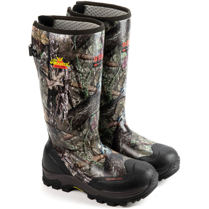 "Thorogood Men's Infinity FD 17"" WP 800g Rubber Hunt Boot - 867-0108 8 / Medium / Mossy Oak - Overlook Boots"