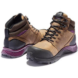 Timberland Pro Women's Reaxion Comp Toe WP Work Boot Brown TB0A219B214  - Overlook Boots