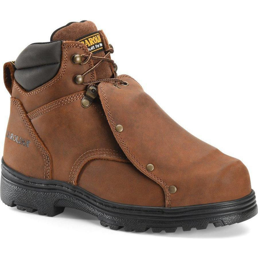 "Carolina Men's Foreman 6"" External MetGuard Work Boot - Brown - CA3630 - Overlook Boots"