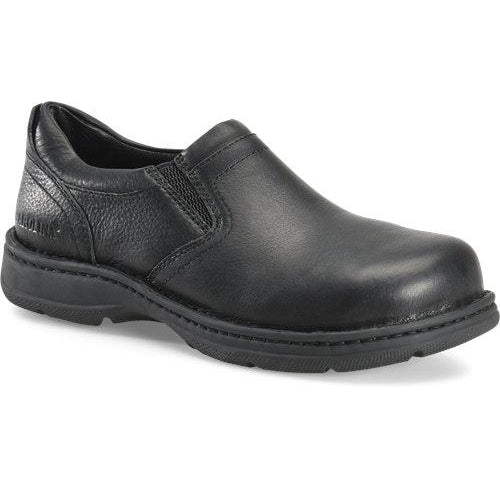 Carolina Men's BLVD ESD Aluminum Toe Opanka Slip-On Work Shoe - CA5563 8 / Medium / Black - Overlook Boots