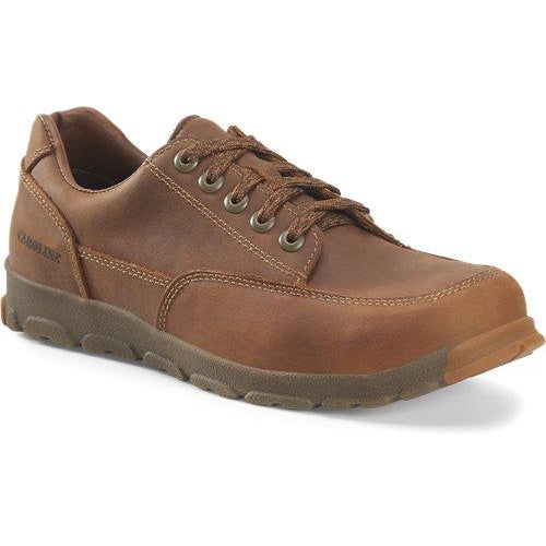 Carolina Men's S-117 Aluminum Toe Work Shoe - Brown - CA5573 8 / Medium / Brown - Overlook Boots