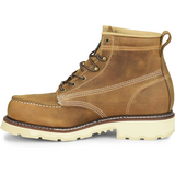 "Carolina Men's Ferric 6"" Steel Toe Moc Toe Work Boot - Brown - CA7514  - Overlook Boots"