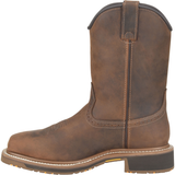 "Carolina Men's Anchor 10"" Comp Square Toe WP Roper Work Boot - CA8036  - Overlook Boots"