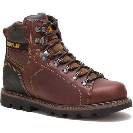 CAT Men's Alaska 2.0 Soft Toe WP Cushioned Footbed Work Boot P74124 7 / Medium / Brown - Overlook Boots