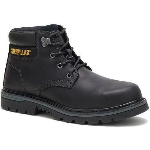 CAT Men's Outbase Steel Toe Waterproof Work Boot - Black - P91210 7 / Wide / Black - Overlook Boots
