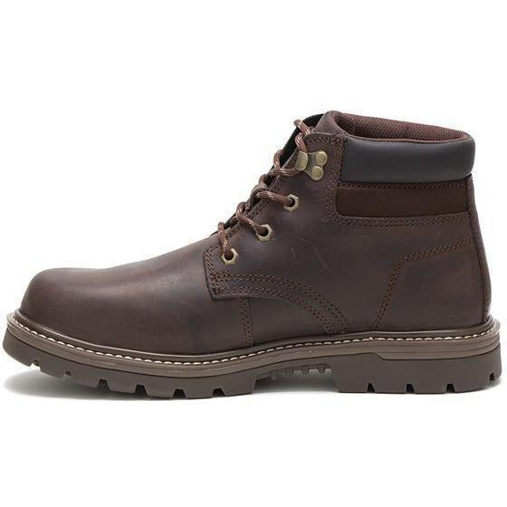 CAT Men's Outbase Steel Toe WP Work Boot - Coffee Bean - P91212  - Overlook Boots