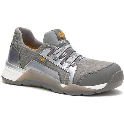 CAT Women's Sprint Textile Alloy Toe WP Work Shoe - Charcoal - P91191 5 / Medium / Charcoal - Overlook Boots
