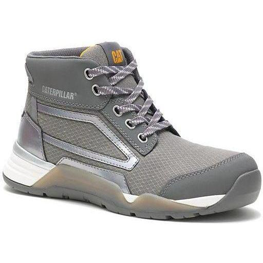 CAT Women's Sprint Mid Alloy Toe WP Work Shoe - Charcoal - P91195 5 / Medium / Charcoal - Overlook Boots