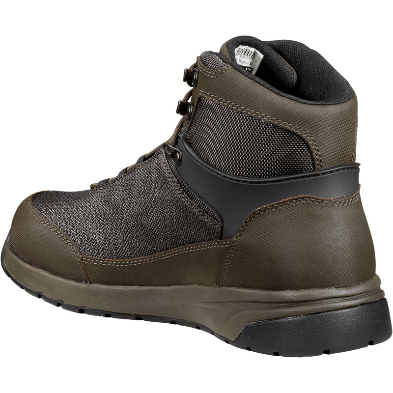 "Carhartt Men's Force 6"" Nano Comp Toe WP Work Boot- Espresso - CMA6425  - Overlook Boots"