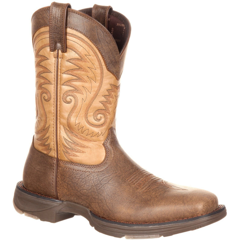 "Durango Men's Ultra-Lite 11"" Square Toe Western Boot - Brown - DDB0109 8 / Medium / Brown - Overlook Boots"