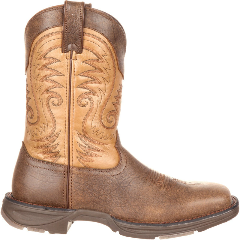 "Durango Men's Ultra-Lite 11"" Square Toe Western Boot - Brown - DDB0109  - Overlook Boots"