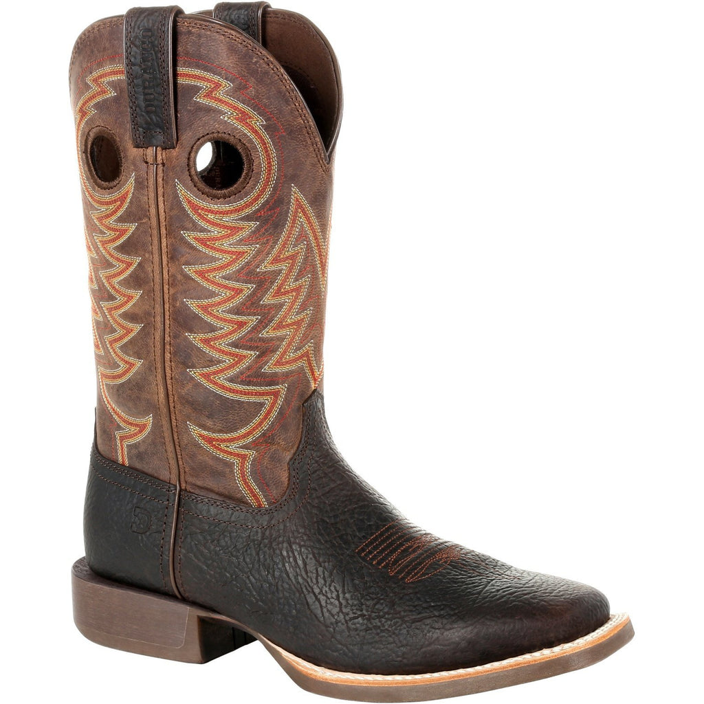 "Durango Men's Rebel Pro 12"" Square Toe Western Boot- Dark Bay- DDB0217 7 / Medium / Brown - Overlook Boots"