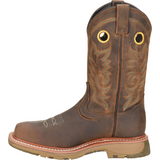 "Double H Men's Elijah 12"" Comp Toe Western Work Boot - Brown - DH5241  - Overlook Boots"